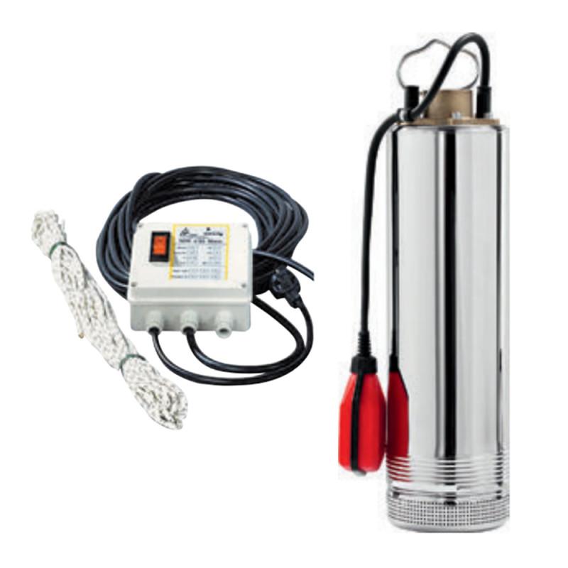 Pompe immergée DAB SRM6100AUT 0,95 kW aspiration par le bas jusqu'à 6 m3/h monophasé 220V