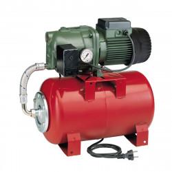 Surpresseur 20L DAB Aquajet Red - Réservoir horizontal à vessie avec pompe a eau monophasé 220V