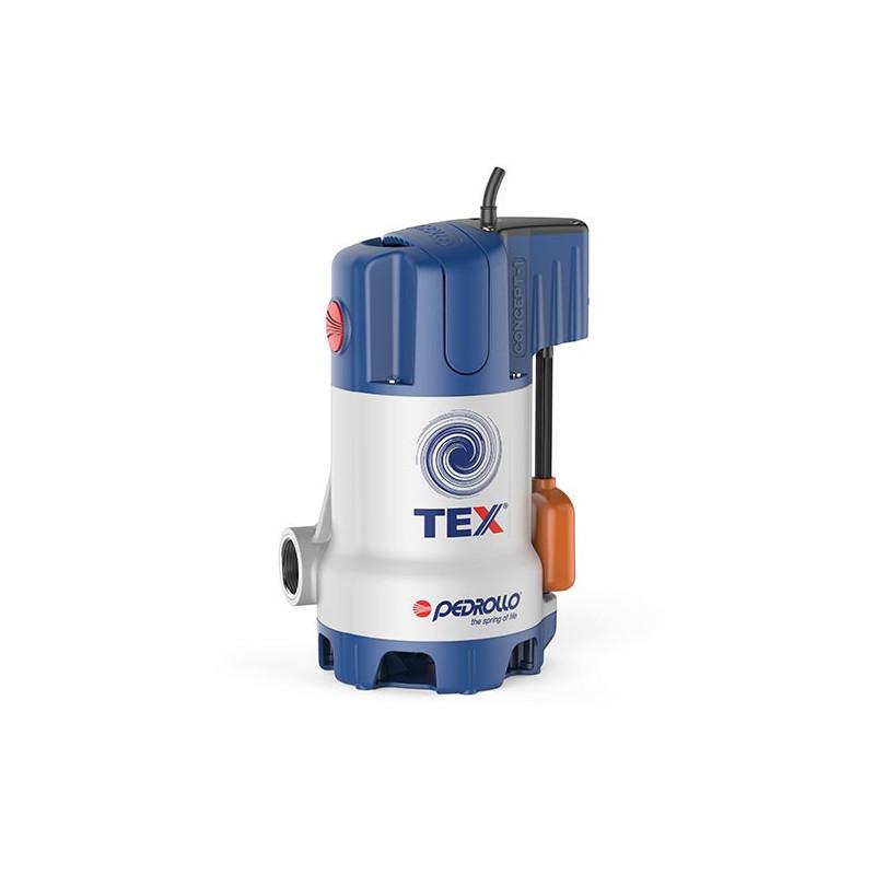 Pompe de relevage Pedrollo Tex jusqu'à 13,2 m3/h monophasé 220V