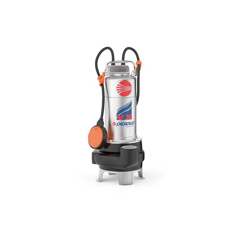 Pompe de relevage Pedrollo VX jusqu'à 39 m3/h monophasé 220V