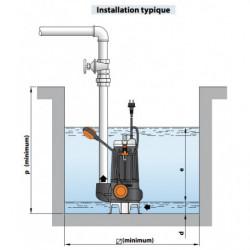 Pompe de relevage Pedrollo MC 45 jusqu'à 48 m3/h monophasé 220V