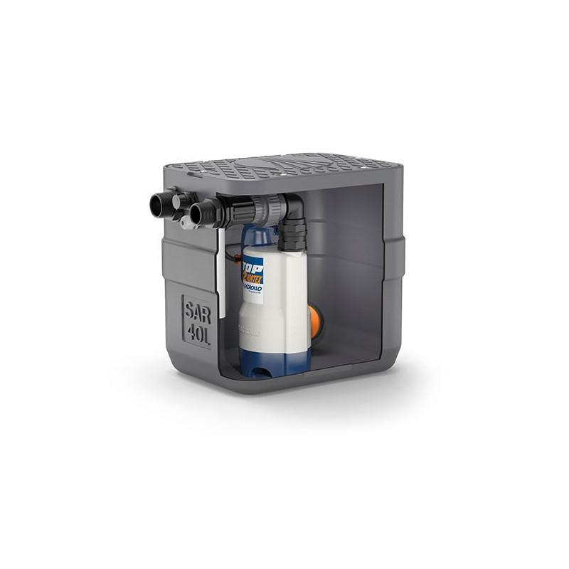 Station de relevage 40L Pedrollo SAR 40 - Pompe a eau monophasé 220V