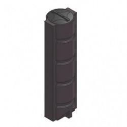 Station de relevage 330L Pedrollo SAR 650 Top compacte - Pompe a eau monophasé 220V