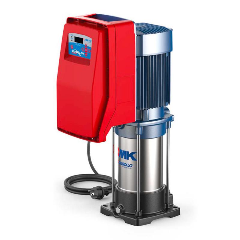 Surpresseur Pedrollo Tissel 200 TS2-MK jusqu'à 7 m3/h - Pompe a eau multicellulaire verticale monophasé 220V