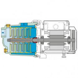 Pompe a eau Calpeda MGP multicellulaire jusqu'à 5,4 m3/h monophasé 220V