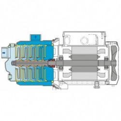 Pompe a eau Calpeda MXP multicellulaire jusqu'à 5,4 m3/h triphasé 380V
