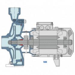 Pompe a eau Calpeda NM 25 centrifuge taraudée de 2,4 à 18 m3/h triphasé 380V