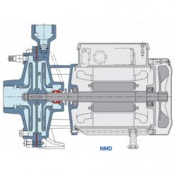 Pompe a eau Calpeda NMD 32-40 centrifuge taraudée de 5,4 à 24 m3/h triphasé 380V