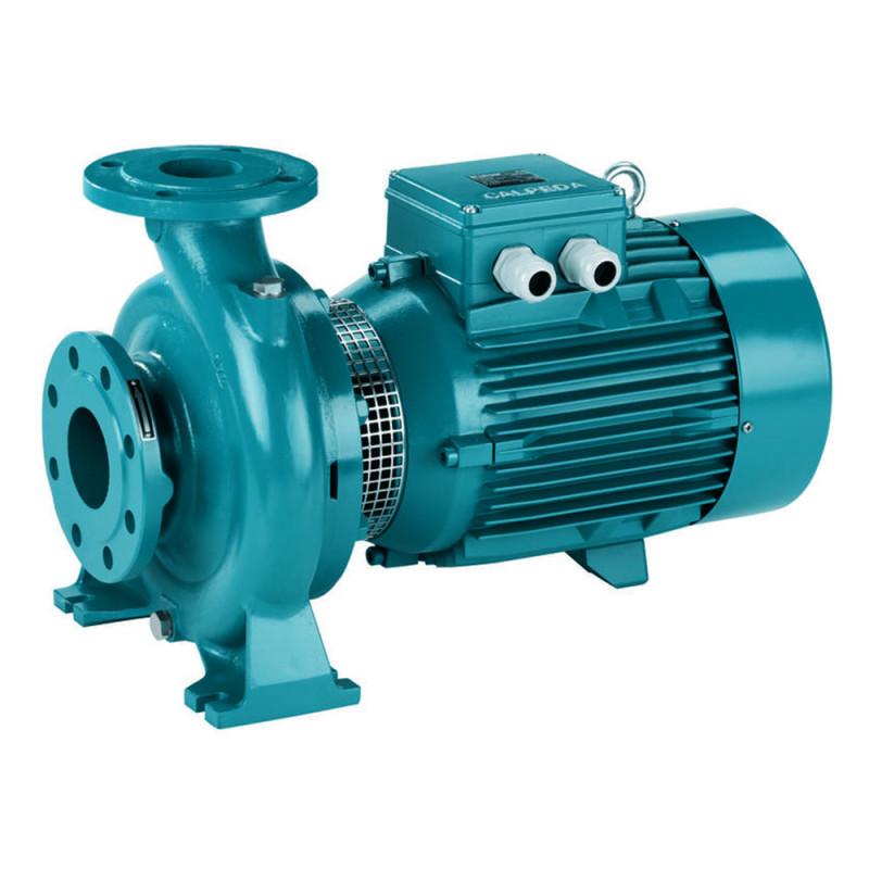 Pompe a eau Calpeda NM 50 centrifuge à brides de 24 à 81 m3/h triphasé 380V