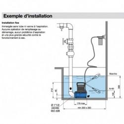 Pompe de relevage Calpeda GM 10 vide cave monophasé 220V