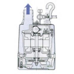 Pompe de relevage Calpeda LSC1 4S serpillière monophasé 220V