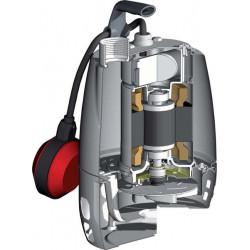 Pompe de relevage Calpeda GXV 25 tout inox à roue vortex triphasé 380V