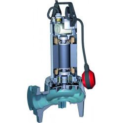 Pompe de relevage Calpeda GQS 50 à roue vortex sortie verticale triphasé 380V