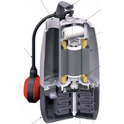 Pompe immergée Calpeda MP inox monophasé 220V