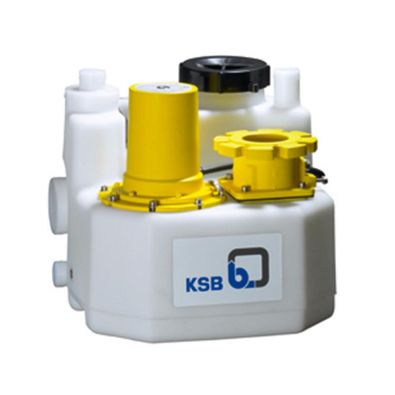 Station de relevage KSB mini-Compacta - Poste double avec broyeur triphasé 380V