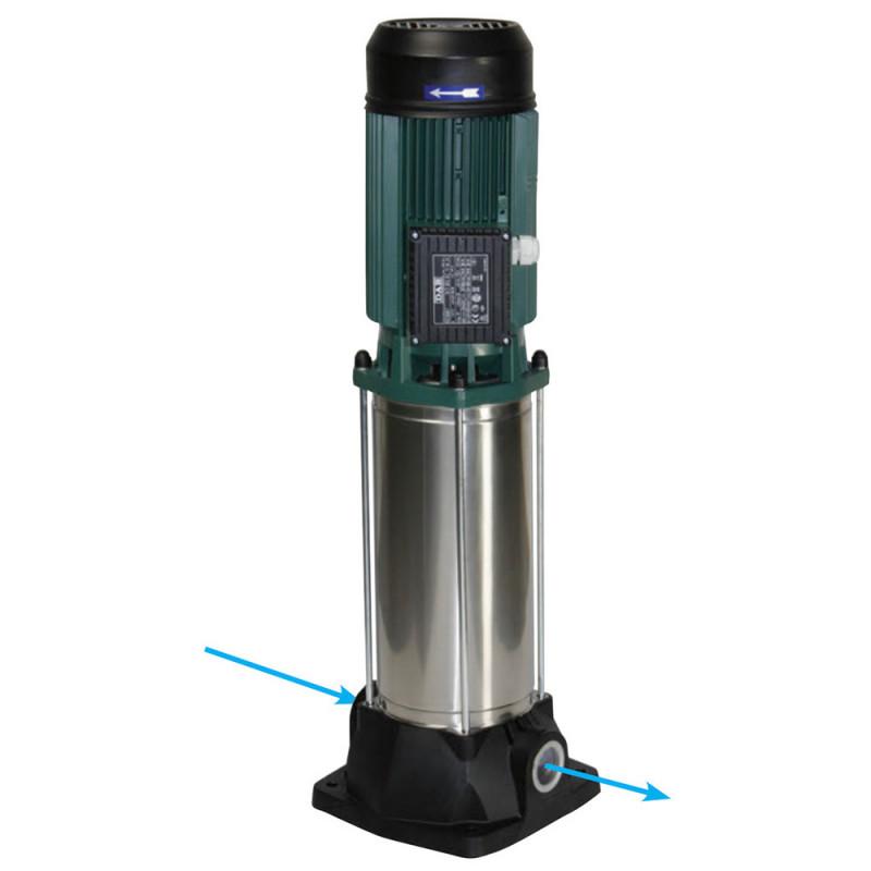 Pompe a eau DAB KVC 120 centrifuge verticale jusqu'à 12 m3/h triphasé 380V