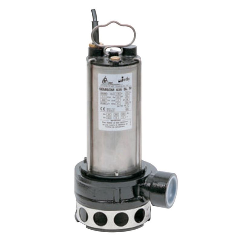 Pompe de relevage DAB Sémisom 635 eau usée sortie horizontale triphasé 380V