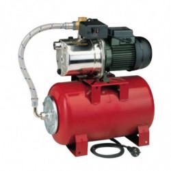 Surpresseur 20L DAB Aquajetinox Red - Réservoir horizontal à vessie avec pompe a eau monophasé 220V