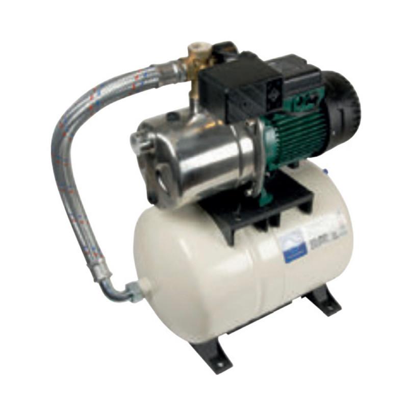 Surpresseur 20L DAB Aquajetinox GWS - Réservoir horizontal à diaphragme avec pompe a eau monophasé 220V