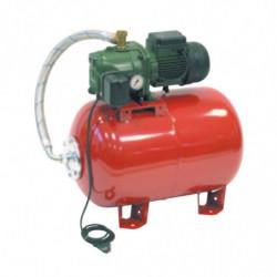 Surpresseur 80L DAB Aquajet Red - Réservoir horizontal à vessie avec pompe a eau monophasé 220V