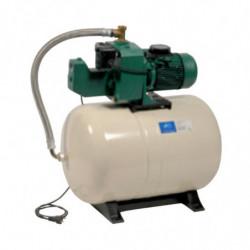 Surpresseur 100L DAB Aquajet GWS - Réservoir horizontal à diaphragme avec pompe a eau monophasé 220V