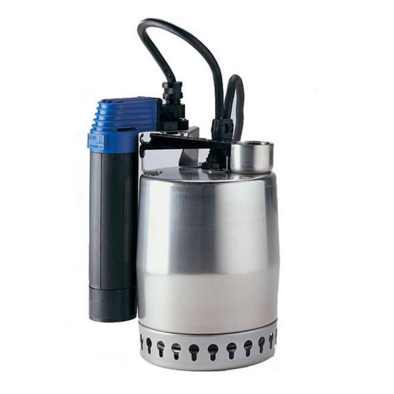 Pompe de relevage Grundfos Unilift KP avec flotteur vertical - Vide cave eau usée monophasé 220V
