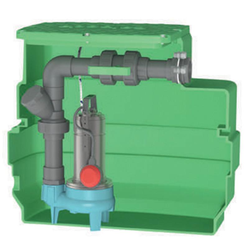 Station de relevage Calpeda CAL230 GQSM 50 eau chargée monophasé 220V