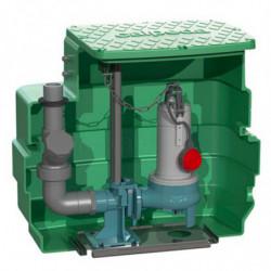 Station de relevage Calpeda CAL230 GQVM 50 PA eau chargée monophasé 220V