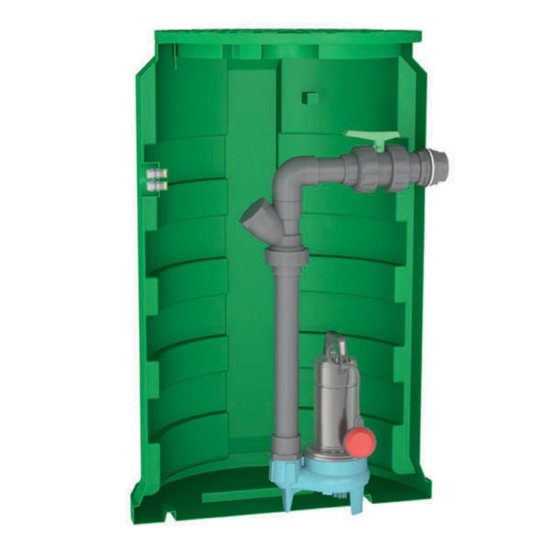 Station de relevage Calpeda CALIDOM GQSM 50 eau chargée monophasé 220V