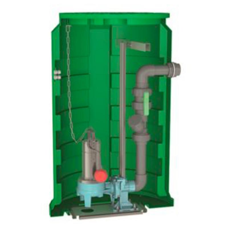 Station de relevage Calpeda CALIDOM GQVM 50 PA eau chargée monophasé 220V
