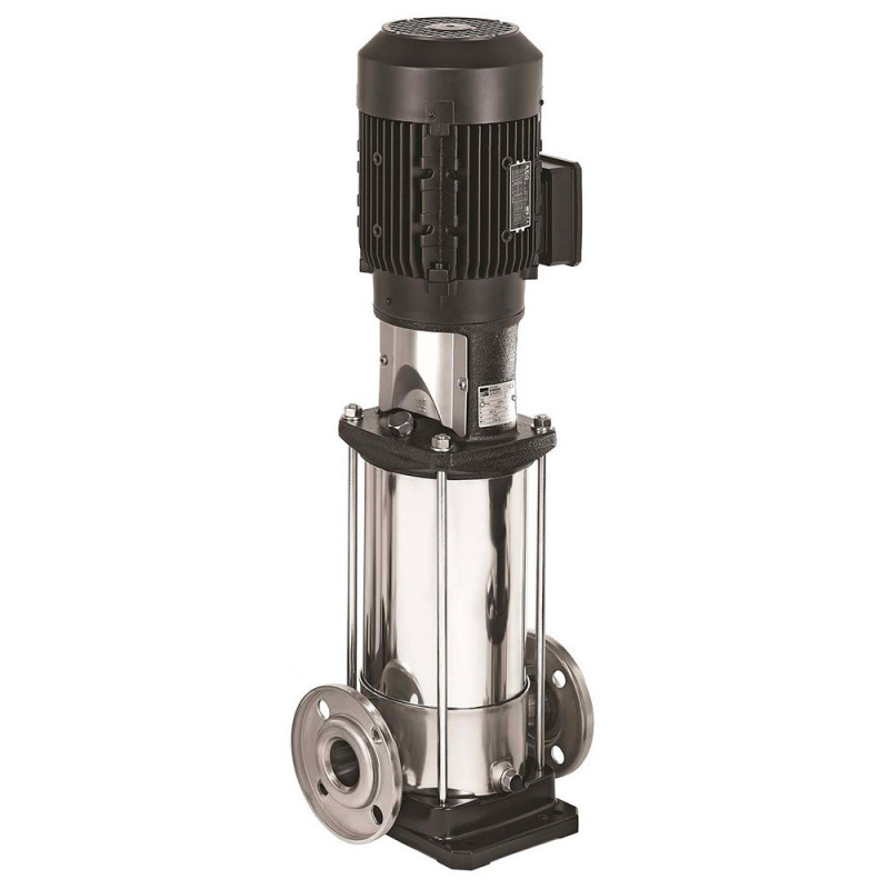 Pompe a eau Ebara EVMS 1 centrifuge multicellulaire à bride ronde libre de 0 à 2,4 m3/h monophasé 220V
