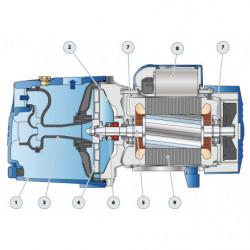 Pompe a eau Pedrollo JSW X auto-amorçante triphasé 380V