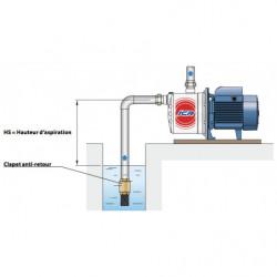 Pompe a eau Pedrollo JCR 2 auto-amorçante inox monophasé 220V
