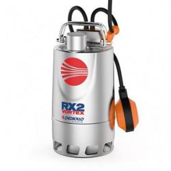 Pompe de relevage Pedrollo RX Vortex jusqu'à 22,8 m3/h triphasé 380V