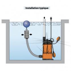 Pompe immergée Pedrollo Top Multi Evo de 1,8 à 4,8 m3/h monophasé 220V