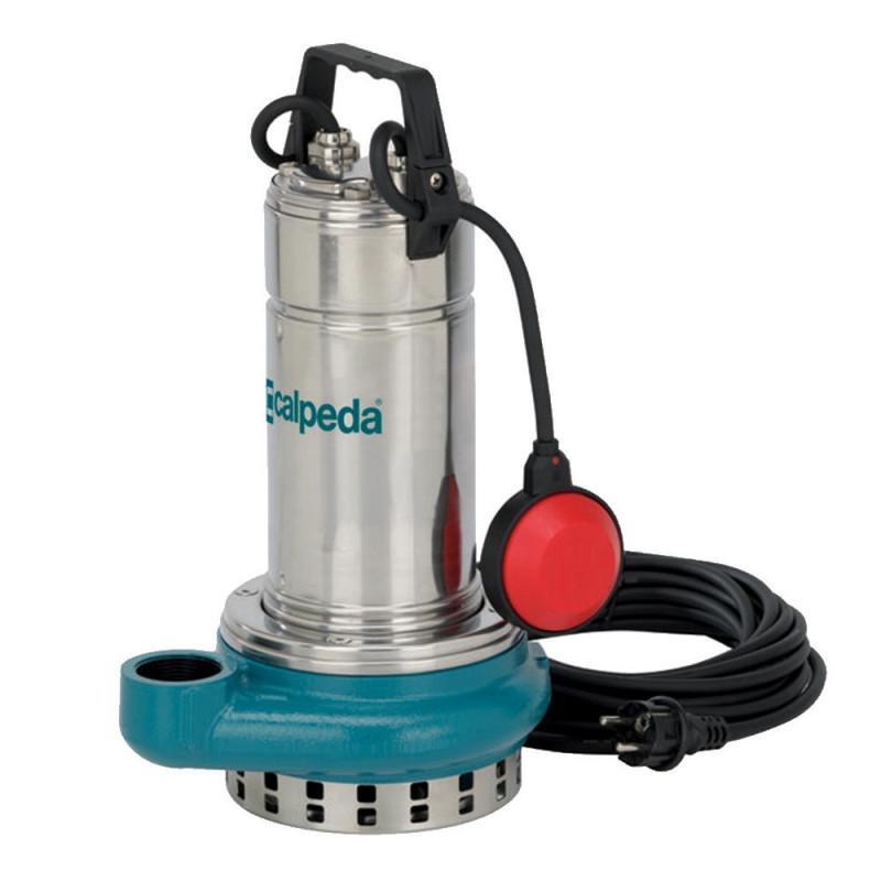 Pompe de relevage Calpeda GQRM1020SG 1,50 kW sortie verticale jusqu'à 30 m3/h monophasé 220V