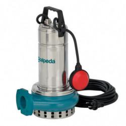 Pompe de relevage Calpeda GQR103214 0,75 kW sortie horizontale jusqu'à 24 m3/h triphasé 380V