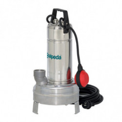 Pompe de relevage Calpeda GXV408 0,75 kW tout inox à roue vortex jusqu'à 18 m3/h triphasé 380V