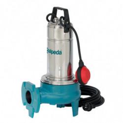 Pompe de relevage Calpeda GQVM5013 1,10 kW à roue vortex sortie horizontale jusqu'à 36 m3/h monophasé 220V