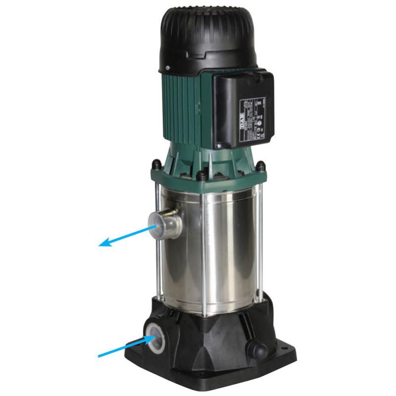 Pompe a eau DAB KVCX7550M 1,5 kW centrifuge verticale jusqu'à 4,8 m3/h monophasé 220V