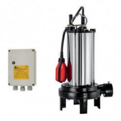 Pompe de relevage DAB SEMISOM125GRMONO 1,8 kW eau chargée jusqu'à 6,5 m3/h monophasé 220V