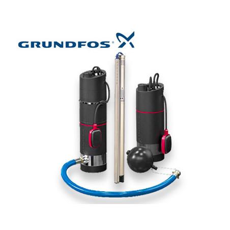 Pompe immergée Grundfos 380v triphasé | LaBonnePompe.com