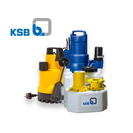 Pompe de relevage KSB triphasé 380v | LaBonnePompe.com