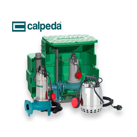 Pompe de relevage Calpeda triphasé 380v   LaBonnePompe.com